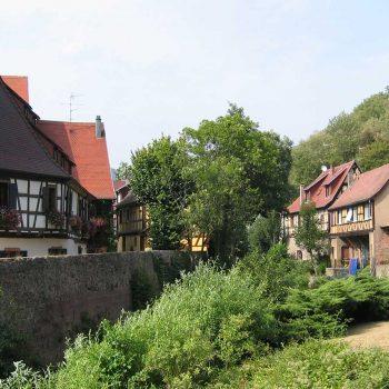La Weiss rivière de la Vallée de Kaysersberg