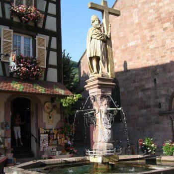 Kaysersberg fontaine Constantin