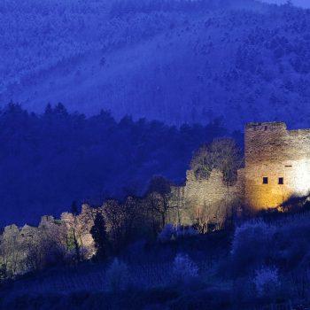 Château de Kaysersberg animation nocturne