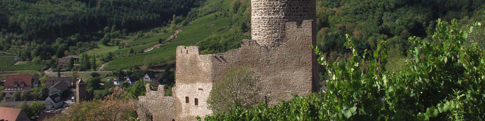 Ruines et remparts du Château de Kaysersberg