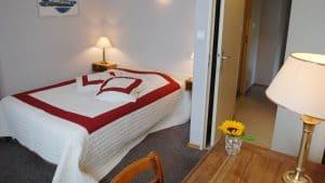 Chambre appartement les Géraniums situé à l'hôtel - 4 rue de la Flieh à Kaysersberg