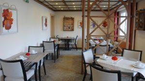 Le petit déjeuner à l'hôtel les Remparts à Kaysersberg