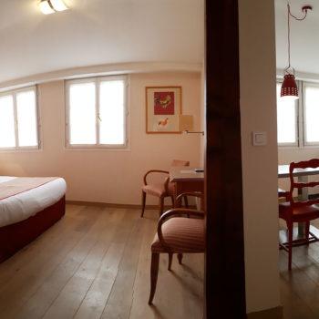 Chambre de l'appartement n°58 Frantz