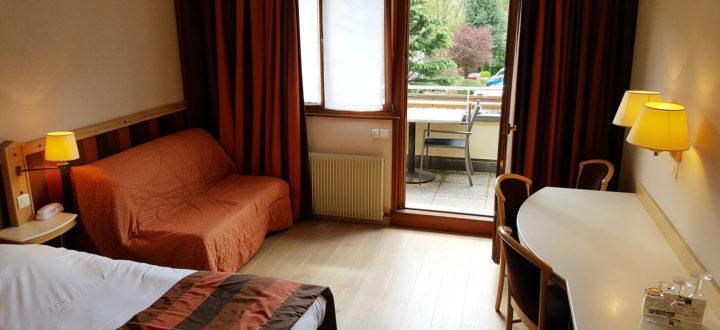 Chambre quadruple avec balcon n°40