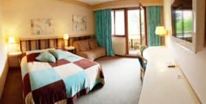Chambre quadruple n°34 Hôtel les Remparts