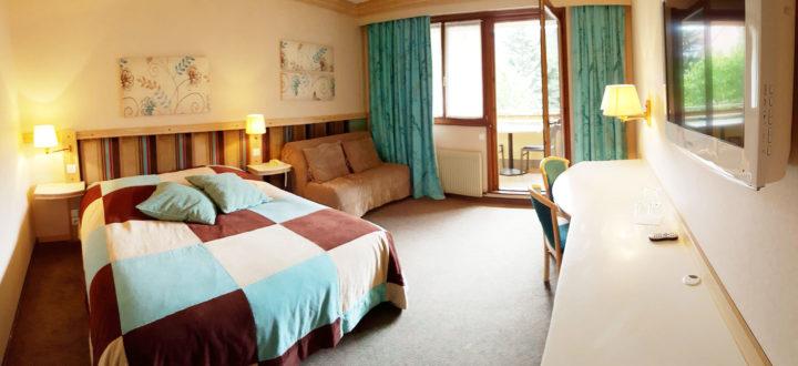 Chambre n°34 Hôtel les Remparts