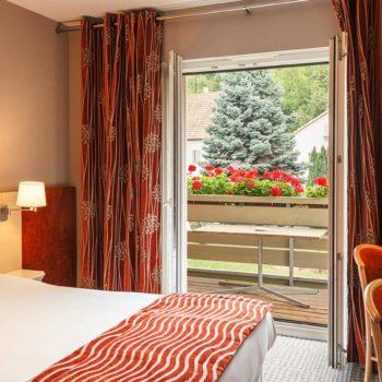 Chambre double avec balcon Kaysersberg les Remparts