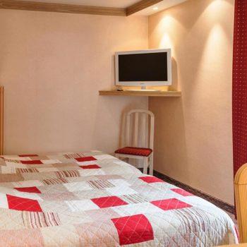 chambre double hôtel les Remparts