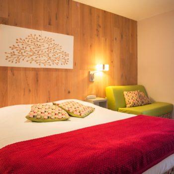Chambre à coucher de l'appartement n°53 Schannla