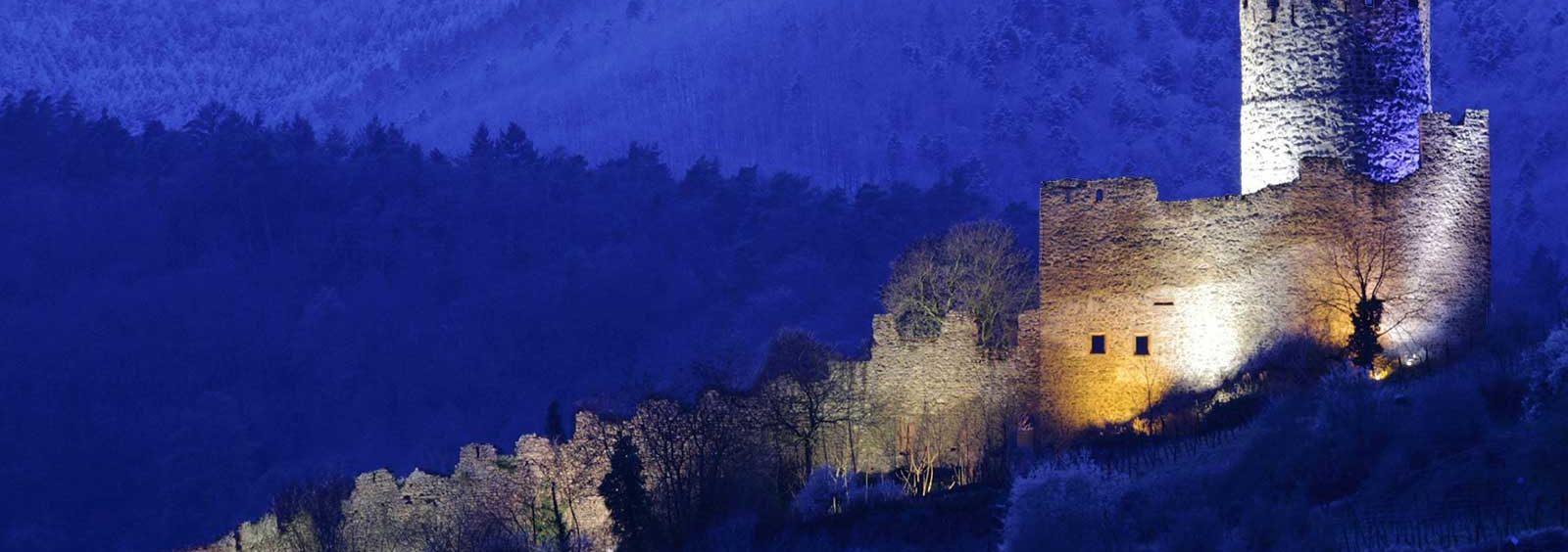 Remparts du château à kaysersberg