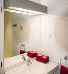 Salle d'eau de l'appartement n°52 Kathel