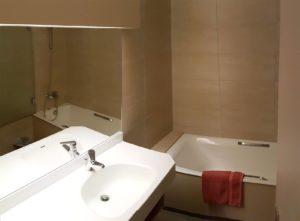 Salle d'eau de l'appartement les Géraniums