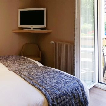 Chambre double + balcon n°14
