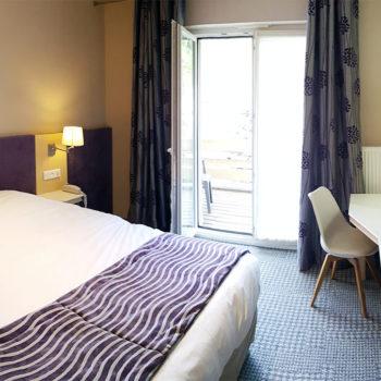 Chambre double + balcon n°18